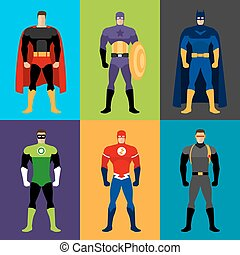 superhero, costumes