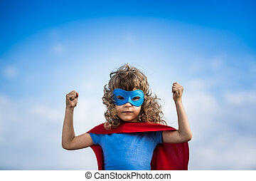 superhero, enfant