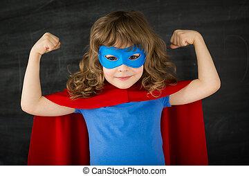 superhero, gosse