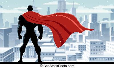 superhero, montre