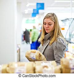 supermarché, sélection