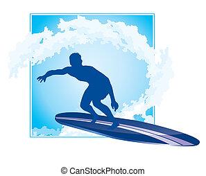 surfer icône