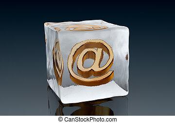 surgelé, email