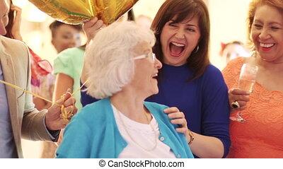 surprise, party!, anniversaire
