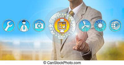 surveillance coeur, ouvrier, employeur, taux, remotely