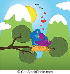 s.valentine, oiseaux