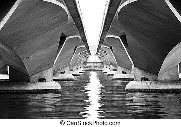 symétrie, pont