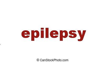 symbole, épilepsie, santé, mental