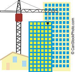 symbole, activité construction