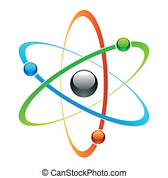 symbole, atome