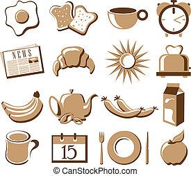 symbole, ensemble, matin