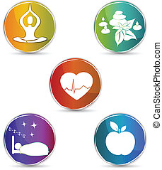 symbole, ensemble, santé