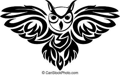 symbole, hibou