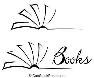 symbole, livre