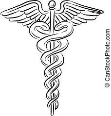 symbole médical, illustration