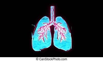 """symbole, oedème, holographic, dangerous"""", très, il, """"pulmonary, suffocation, poumon, numérique"""