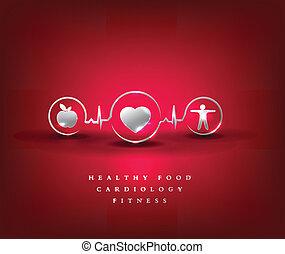 symbole, services médicaux