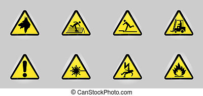 symboles, avertissement