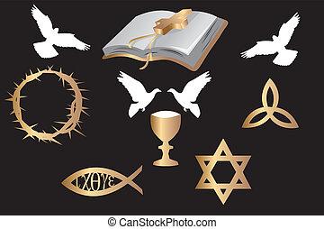 symboles, divers, religieux