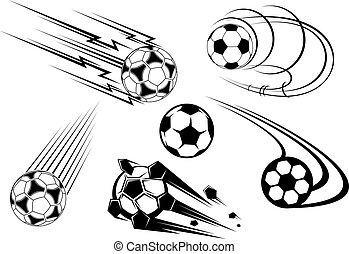 symboles, football football, mascottes