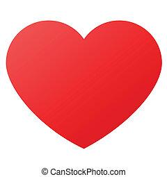 symboles, forme coeur, amour