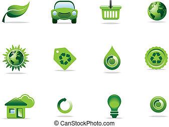 symboles, icônes toile