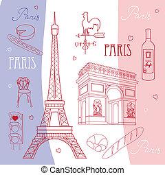symboles, paris