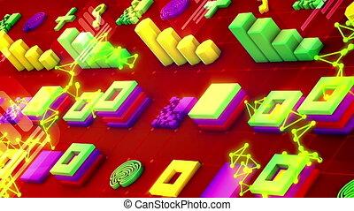 """symboles, pc, techno, """"abstract, chips"""""""