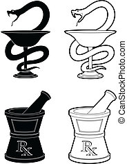 symboles, pharmacie