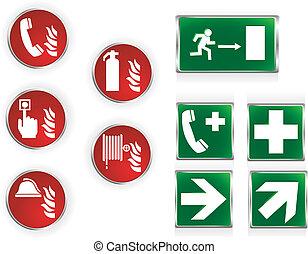 symboles, urgence
