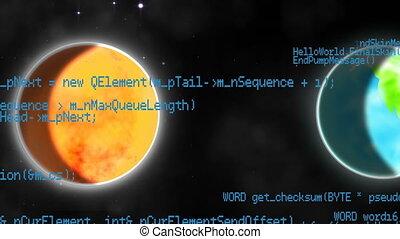 système, solaire, planètes