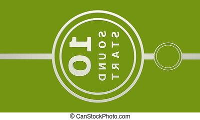 tã©lã©viseur, business, pellicule, compte rebours, nombres, ou