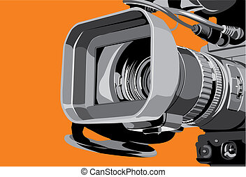 télécaméra, studio