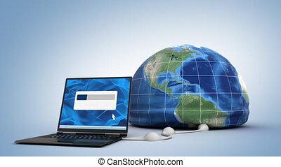 téléchargement, mondiale