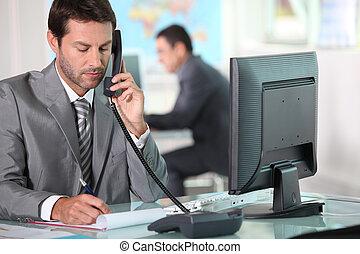 téléphone, bureau exécutif