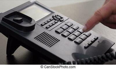 téléphone, homme affaires