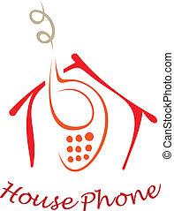 téléphone maison
