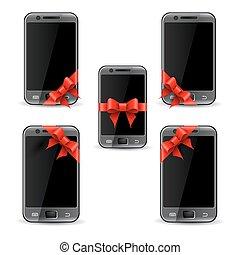 téléphone portable, cadeau