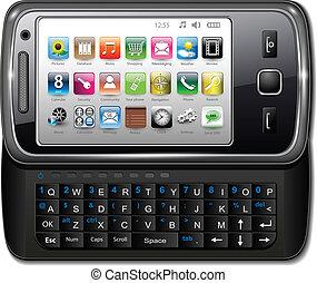téléphone, smartphone, mobile