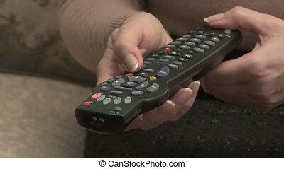 télévision éloigné