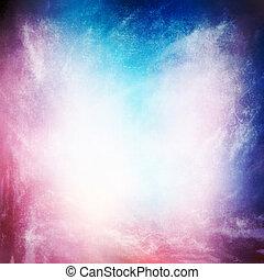 t, fond, texture, résumé, ciel, grunge, pourpre, brouillard