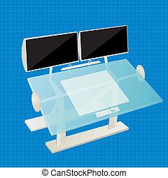 table, concepteur
