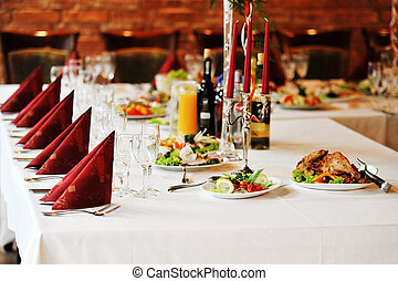 table, nourriture, boisson