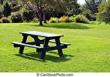 table, pique-nique