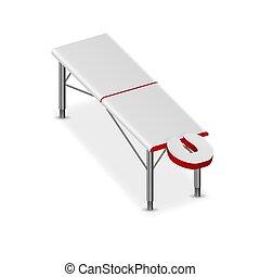 table, plier, masage, 3d