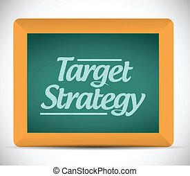 tableau, écrit, message, cible, stratégie