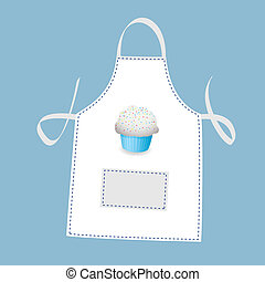 tablier, petit gâteau