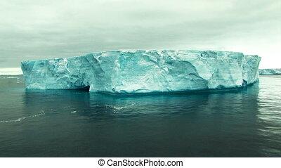 tabular, énorme, antarctique, iceberg