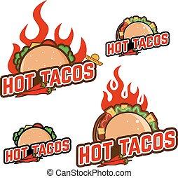 tacos, chaud