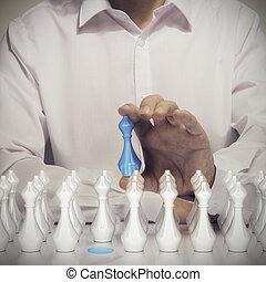 talent, concept, recrutement